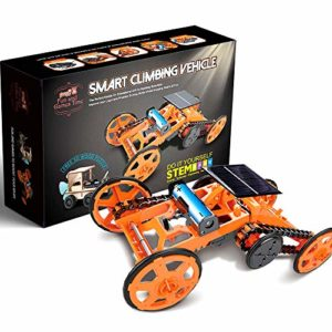 BEST-Smart-Climbing-Vehicle-Educational-STEM-Learning-Toy-Assembly-Kit-Solar-Powered-Mechanical-Circuit-Building-4WD-Robotic-Motor-Car-Set-for-Science-Project-Engineering-Birthday-Christmas-Gift-0