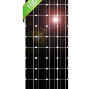 DOKIO-100-Watt-12-Volt-Monocrystalline-Solar-Panel-High-Efficiency-Module-Durable-RV-Marine-Boat-Off-Grid-0
