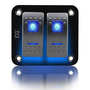 FXC-Rocker-Switch-Aluminum-Panel-2-3-4-5-6-Gang-Toggle-Switches-Dash-5-Pin-ONOff-2-LED-Backlit-for-Boat-Car-Marine-0