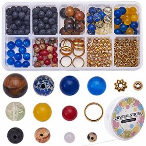 SUNNYCLUE-DIY-Multilayer-Solar-System-Bracelet-Making-Kit-Natural-Gemstone-Universe-Galaxy-The-Nine-Guardian-Planets-Necklace-Bracelet-Jewelry-Making-Starter-Supplies-0