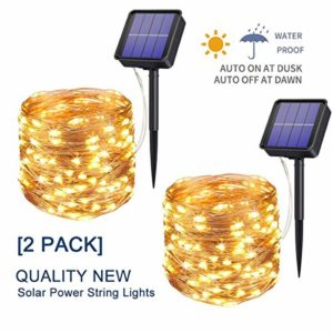 Upoom-2-Pack-Solar-Fairy-Lights-200-LED-Outdoor-Solar-String-Lights-Garden-Copper-Wire-Decorative-Lights-66Ft-Waterproof-Indoor-Outdoor-Lighting-for-Garden-Patio-Yard-Christmas-0