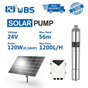 WBS-Pump-Deep-Well-Solar-Water-Screw-Pump-Submersible-015hp-24V-53GPM-184-Head-3-3DSS12-56-24-120-Not-Include-Solar-Panel-0