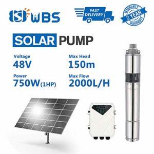 WBS-Pump-Deep-Well-Solar-Water-Screw-Pump-Submersible-1hp-48V-88GPM-492-Head-3-3DSS20-150-48-750-0