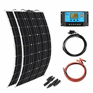 XINPUGUANG-Flexible-Solar-Panel-100-Watt-18V-Monocrystalline-Photovoltaic-PV-Solar-Panel-Module-Compatibility-with-18V-and-Below-Devices100W-0