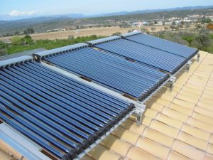 Vacuum tubes, efficient technology in solar collectors