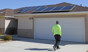 How much does it cost to put solar panels in…