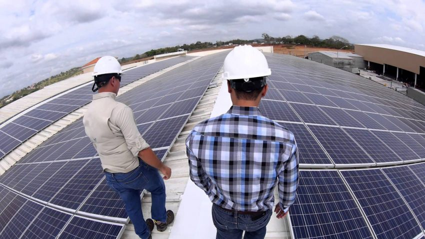 What power can a solar panel produce?