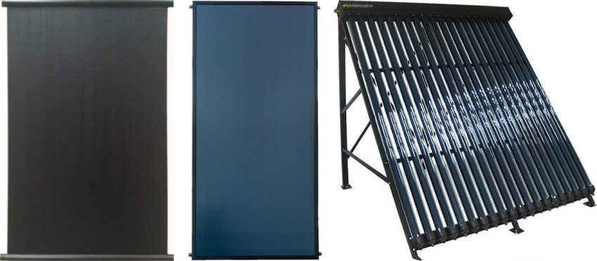 Solar thermal collectors, panels or collectors